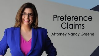 Bankruptcy & Claiming Preference from a Debtor