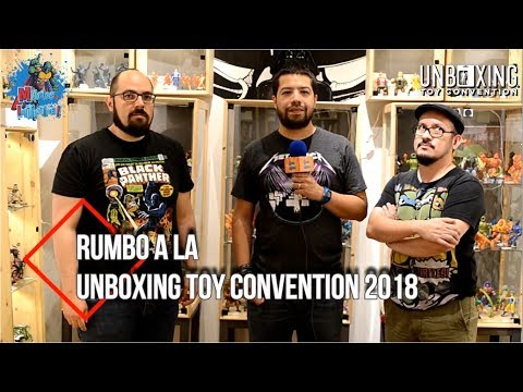 Magios Initiative-Special Coverage-Rumbo a la Unboxing Toy Convention 2018. #Tello #Chinaski