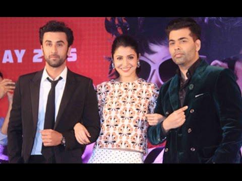 'Bombay Velvet' Hindi Movie 2015   Ranbir Kapoor, Anushka Sharma, Karan Johar   2nd Trailer Launch