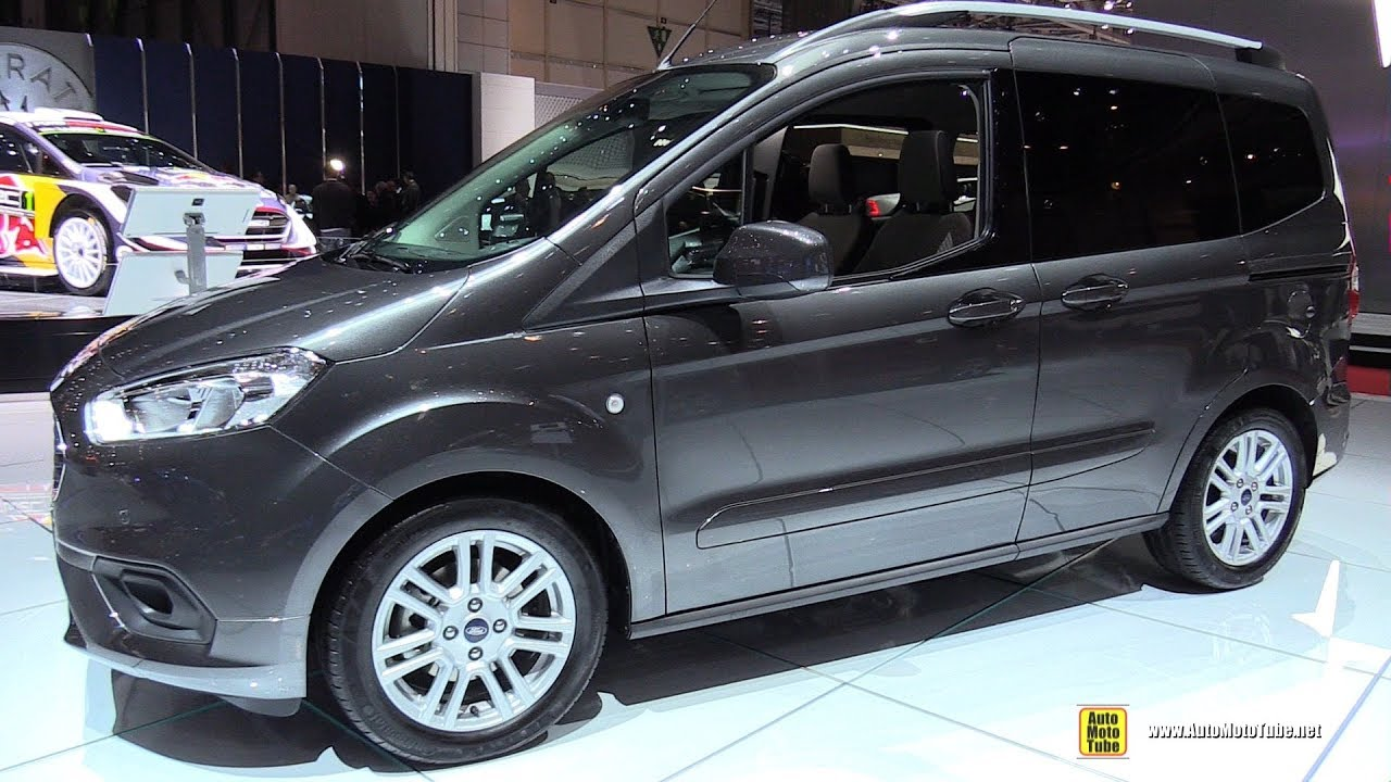 2018 ford tourneo courier exterior and interior. Black Bedroom Furniture Sets. Home Design Ideas