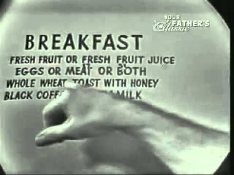 Jack LaLanne - Talks about the best meal plan....
