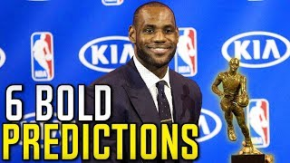 6 BOLD NBA PREDICTIONS FOR 2018