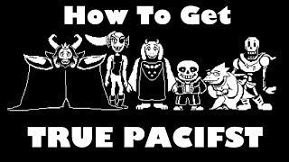 Undertale - How T๐ Get The True Pacifist Ending (read desc)