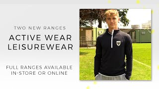 Two brand new ranges: active wear and leisurewear