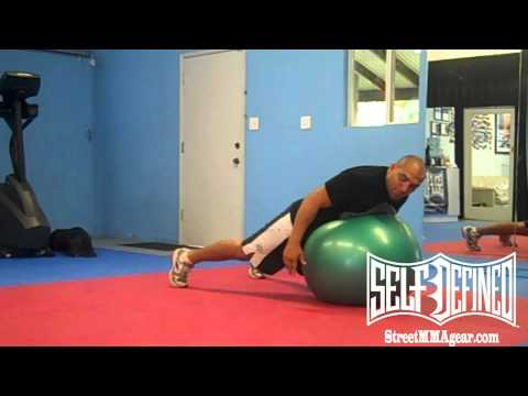 MMA Guardian presents Jiu Jitsu Drills: Stability Ball JiuJitsu Exercises