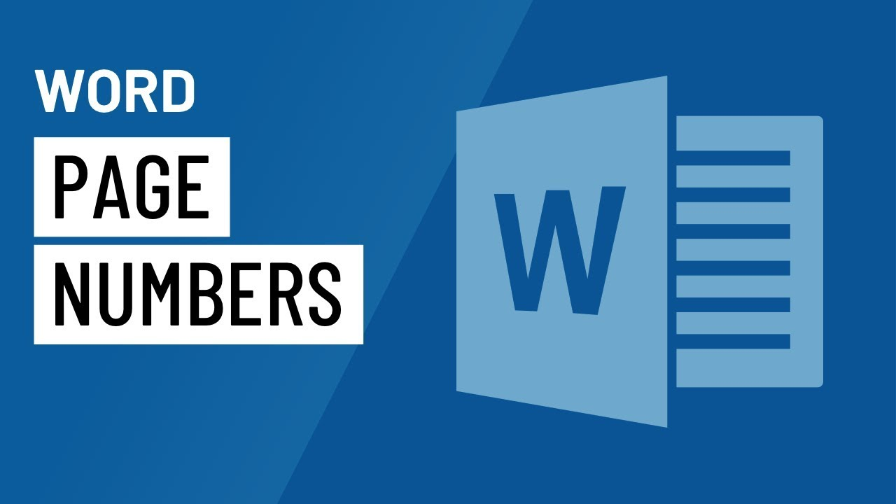 Word Tips: Modifying Page Numbers in Word
