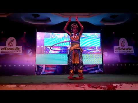 Classical dance with Ring by S. Bhargavi (Hearing Impaired student)