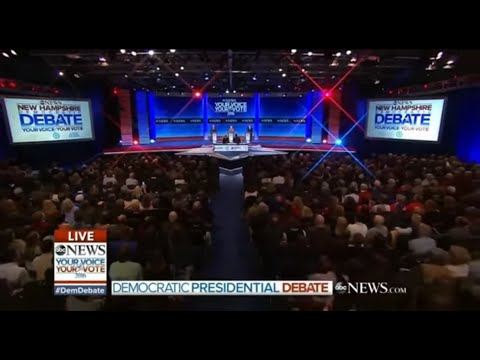 Third Democratic Primary Debate - December 19 2015 on ABC