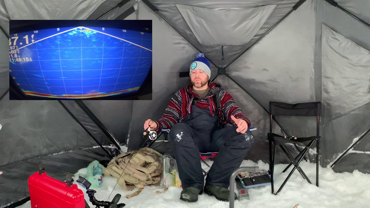 Ice fishing in Yellowknife for White Fish!