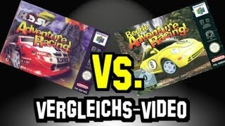 N64 Games Vergleich: Beetle Adventure Racing vs. HSV Adventure Racing