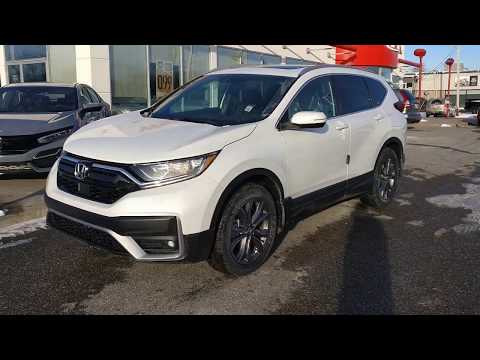2020 HONDA CR-V SPORT CANADA REDESIGN - REVIEW