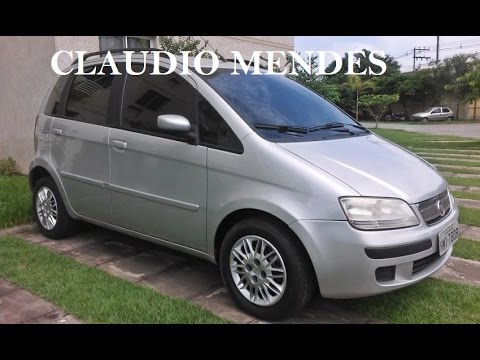 fiat idea elx 1 4 2010 flex bom youtube