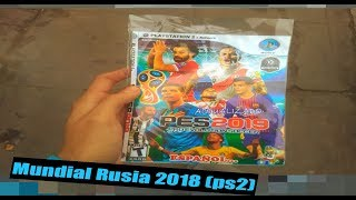 Mundial 2018 Pes 2019 PS2   GENERACIÓN PULPIN