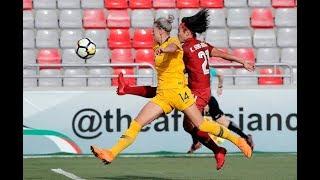 Australia 2-2 thailand (afc women's asian cup 2018: semi-finals)
