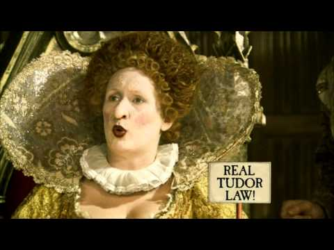Horrible Histories Terrible Tudors money currency, Elizabeth I