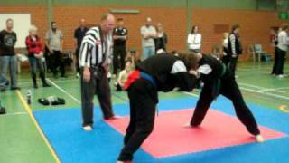 Zen Do Kai Kickboxing Tournament , Takedowns