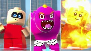 LEGO The Incredibles - Jack-Jack All Transformations (Gameplay Showcase)