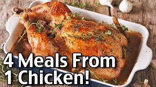 leftover rotisserie chicken recipes 4 meals from one chicken