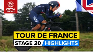 Tour de France 2021 Stage 20 Highlights | Last Chance For A GC Shake Up In Individual Time-Trial