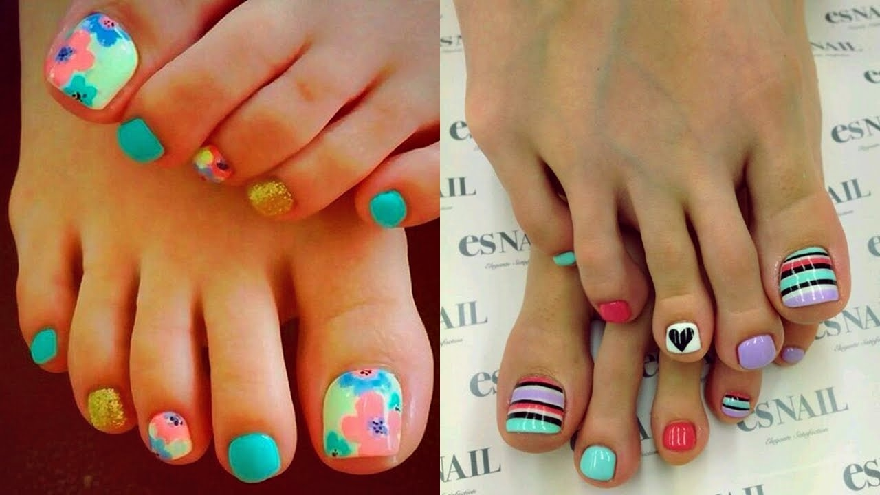 Tendencias en u as 2016 pedicure de moda youtube for Tendencia en decoracion 2016