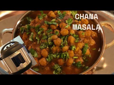 Chole Masala In Instant Pot | Punjabi Chole Masala Recipe | Instant Pot Ultra Recipes