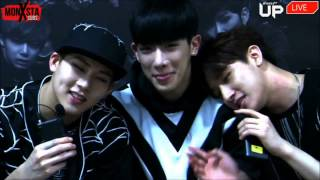 150514 -  I M n Jooheon Rap ( Afreeca TV Ep 1 Cut )
