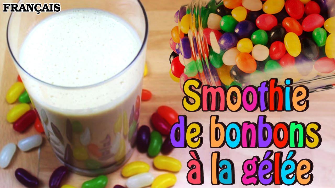 Recette facile jellybean smoothie in french comment faire smoothie de bonbons la g l e - Comment faire des smoothies ...
