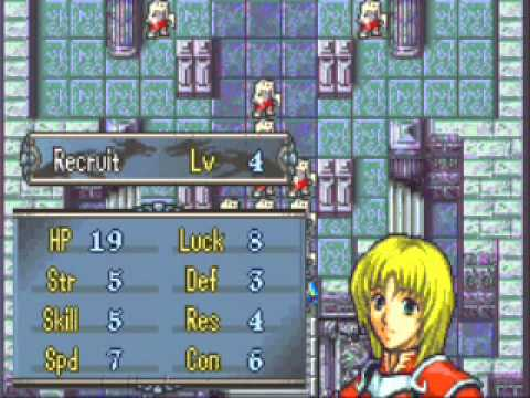 <b>Fire Emblem</b>: The <b>Sacred Stones</b> Amelia quick level up. - YouTube