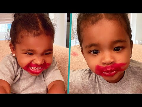 Khloé Kardashian's Daughter True Puts Makeup On from YouTube · Duration:  2 minutes 39 seconds