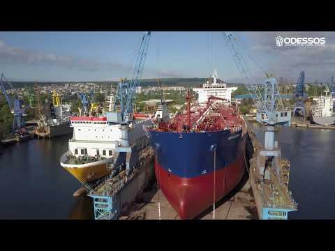 M/T Seavictory at Odessos Shipyard - Varna, Bulgaria