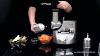 Насадка тёрка-ломтерезка Kenwood MGX 643 - видео обзор