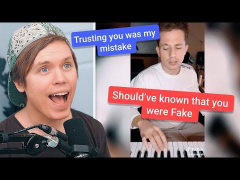 Singing Lyrics From Charlie Puth's TikTok Challenge