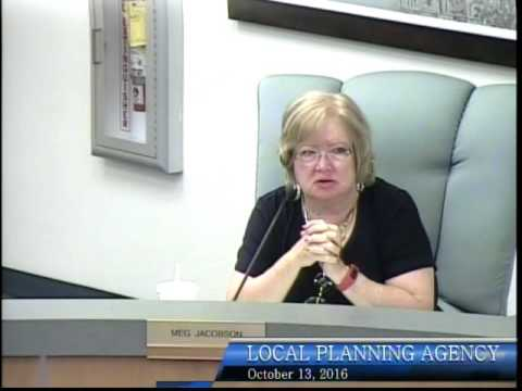 City of Bonita Springs, Local Planning Agency Meeting, October 13th, 2016 - Part 1