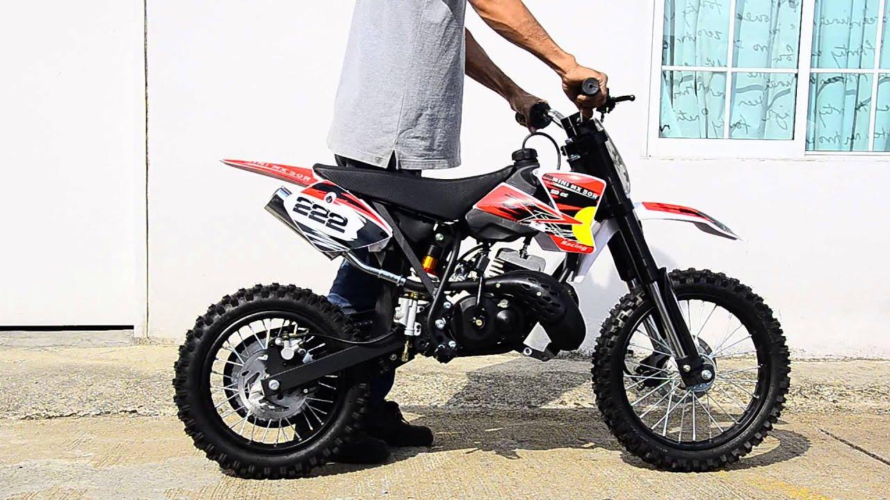 2 Stroke Dirt Bike L P Jacob Mini 50cc Youtube