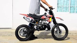 2 STROKE DIRT BIKE L&P JACOB MINI 50CC