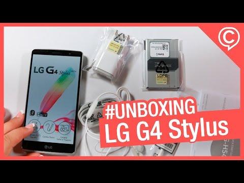 """Unboxing LG G4 Stylus H540 - TV Digital em uma tela de 5.7"""""""