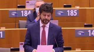 """Intervento di Brando Benifei, capo delegazione Pd, su """"Preparazione del Consiglio europeo straordinario dedicato alla pericolosa escalation e al ruolo della Turchia nel Mediterraneo orientale"""""""