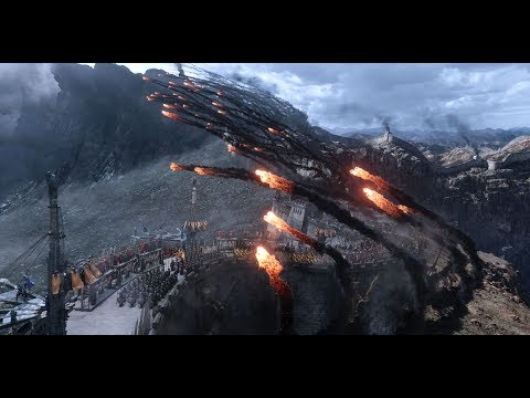 The Great Wall - First Battle Begin pt 1 - Movie Clip FHD