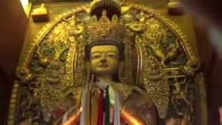One Of The Lord Buddha Monastery In Front Of Bodhinath Monastery | Kathmandu, Nepal - HD