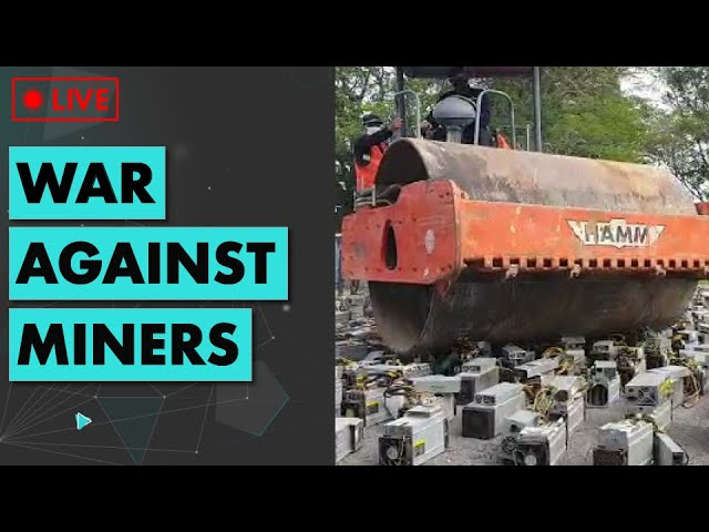 🔴 1000 Bitcoin miners SAVAGELY destroyed! | Ethereum & DeFi News