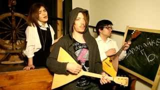 "Radiohead Creep cover by ECO balalaika band ""Creepy Three Strings"""