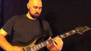 Cradle of Filth - Cthulhu Dawn guitar cover