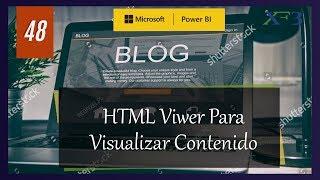 Texto Enriquecido con HTML en Power BI - Power BI y más #48