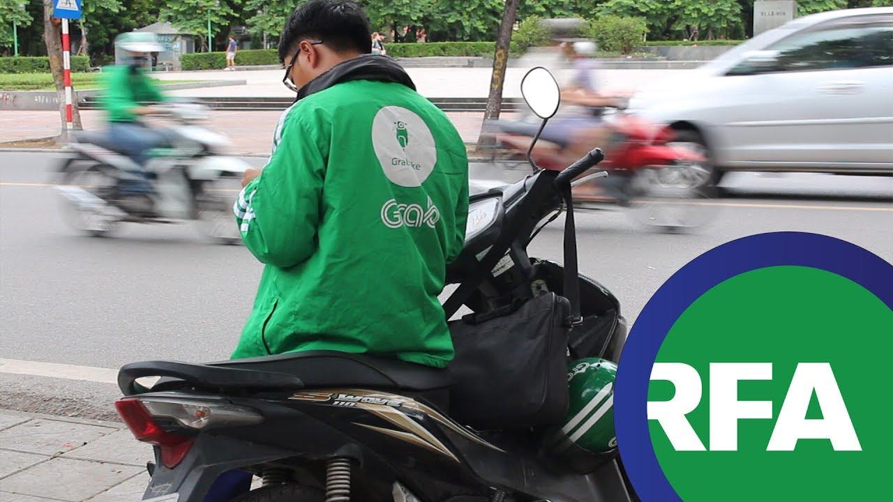 Chờ ý kiến chính phủ về vấn đề Grab/Uber | © Official RFA Video