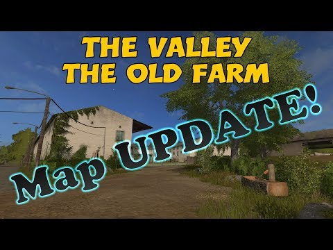 Farming Simulator 17 PS4: A Guide to... The Valley The Old Farm, MAP UPDATE!!