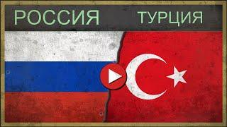 Сравнение армий РОССИЯ vs ТУРЦИЯ 2018 ФУТБОЛ