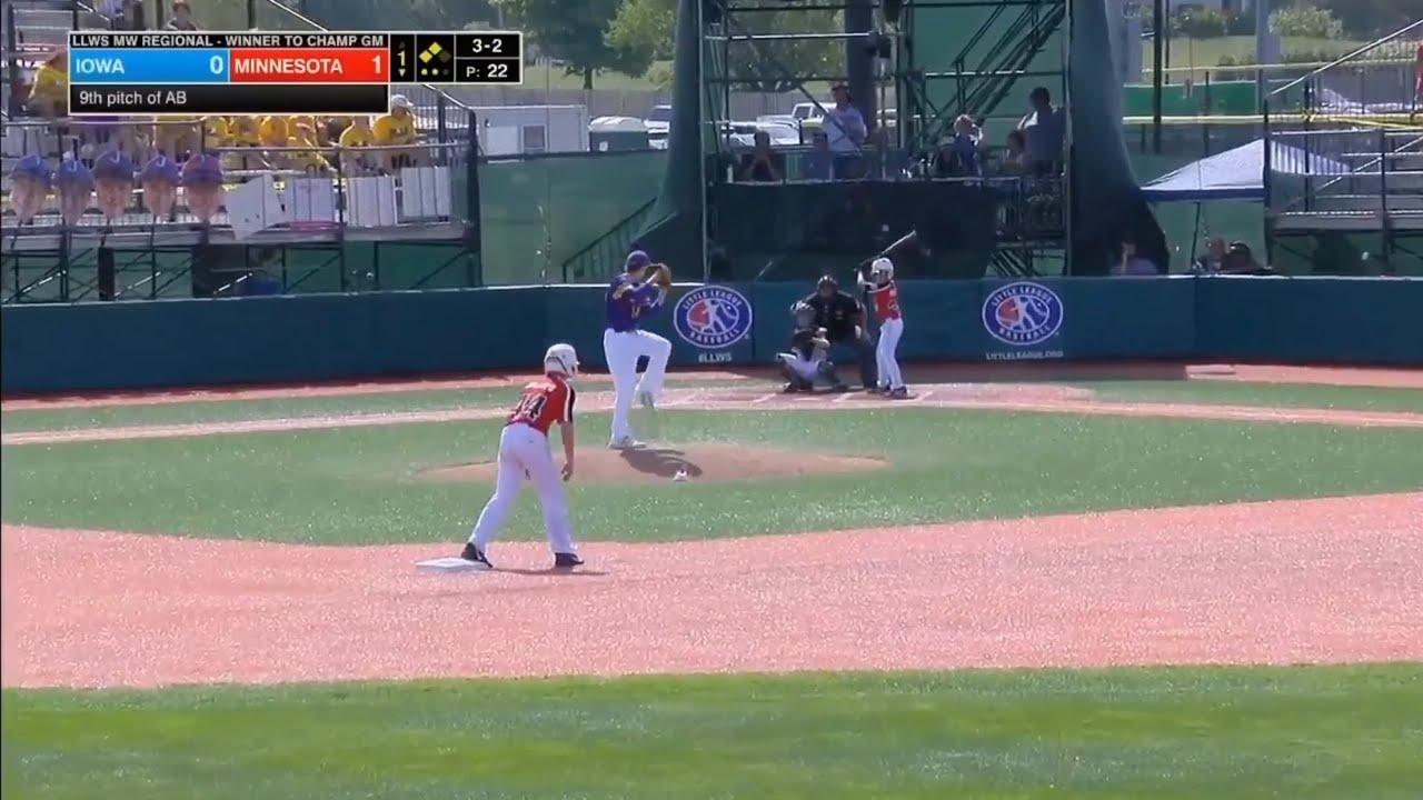 Little League World Series 2019 Midwest Region Semifinal   Minnesota vs  Iowa   LLWS Highlights