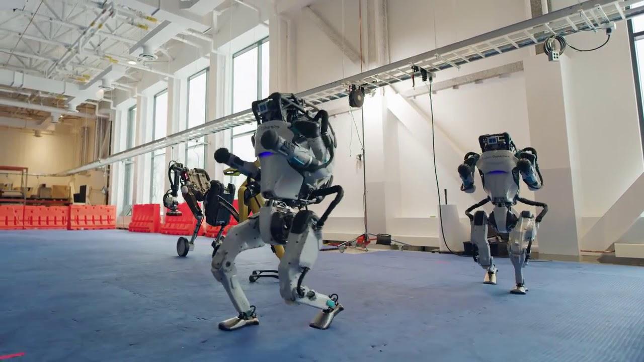 Despedir el año con los robots de Boston Dynamics bailando, es un regalo  genial en este 2020 - YouTube