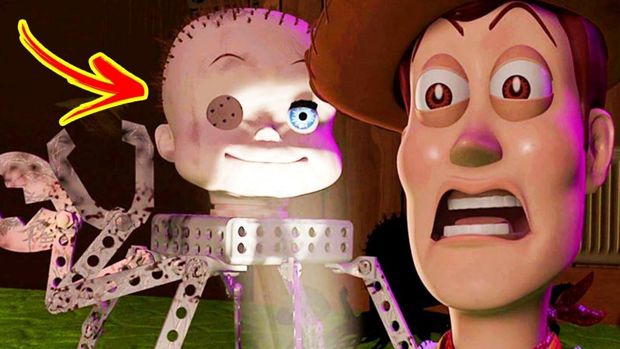 The MOST TERRIFYING MOMENTS In TOY STORY