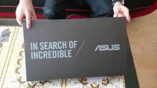 ASUS X555LA Laptop Black (Unboxing)
